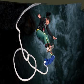 Bungee Jump in The Last Resort