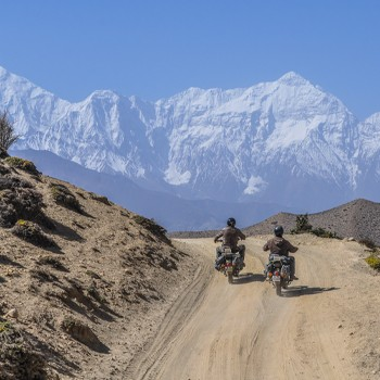 Motorcycle Ride to  Mustang -The Last Forbidden Kingdom
